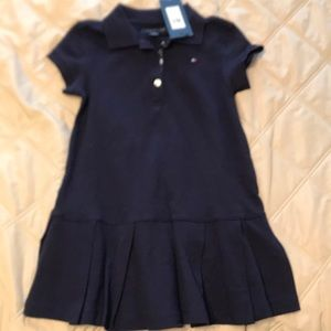 NWT Tommy navy blue polo dress, perfect condition